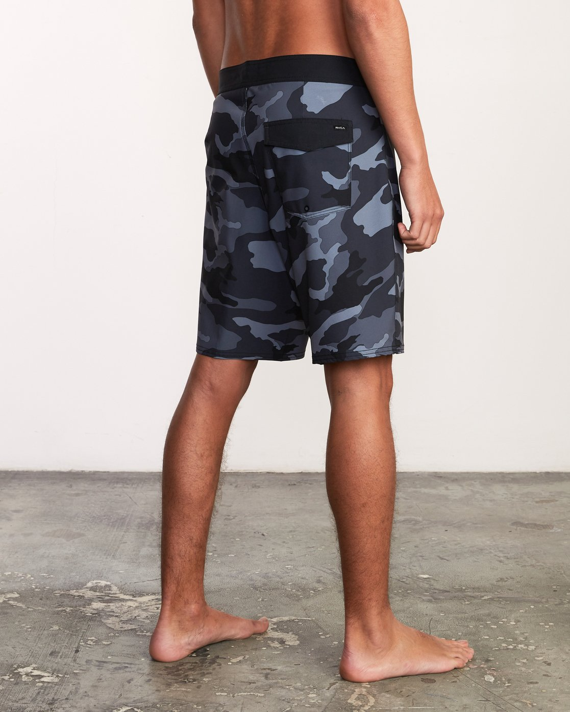 "5 VA Trunk Print - 19"" Boardshorts for Men Grey N1BSRJRVP9 RVCA"