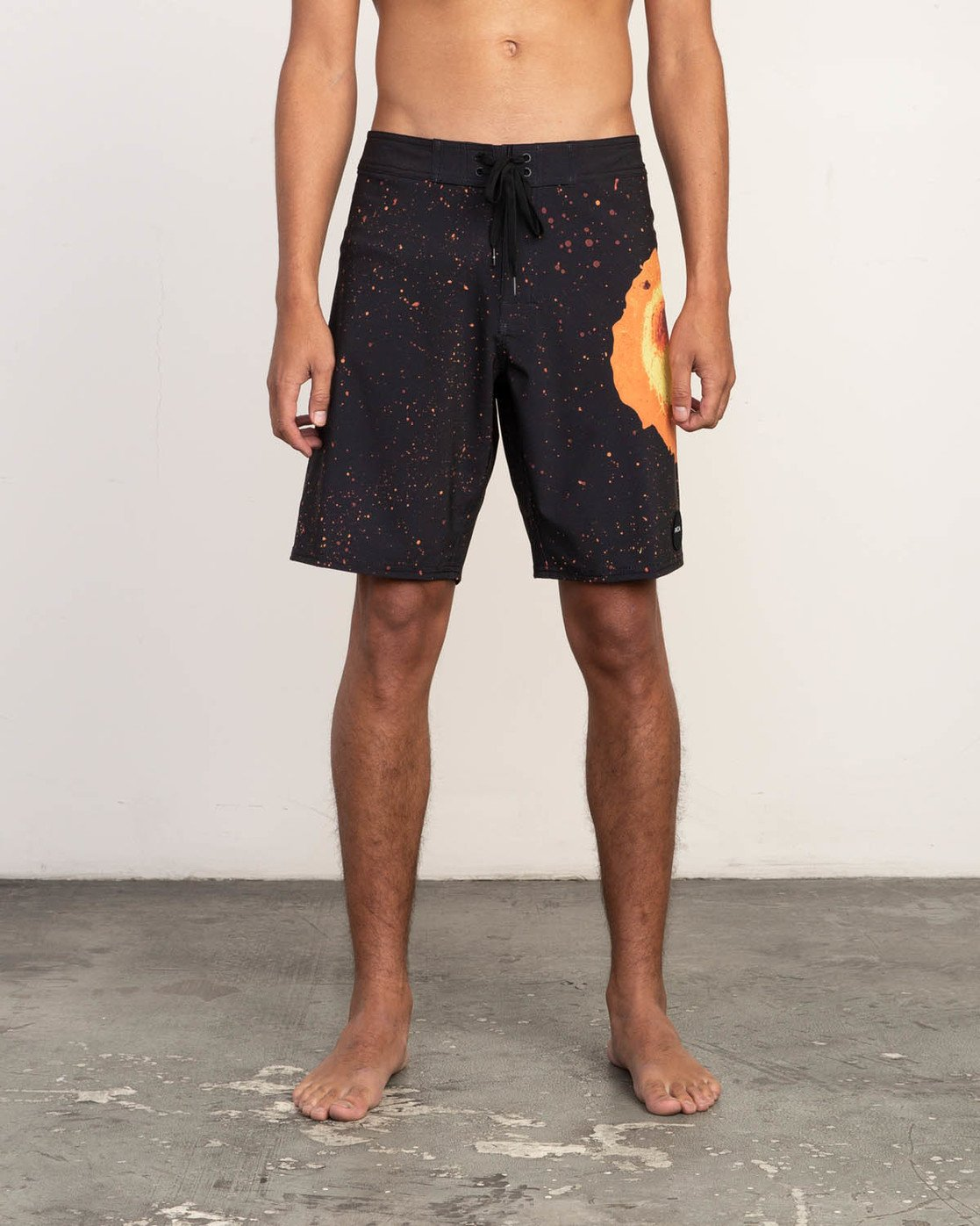 "1 Mark Oblow Davies Trunk - 19"" Boardshorts for Men Black N1BSRLRVP9 RVCA"