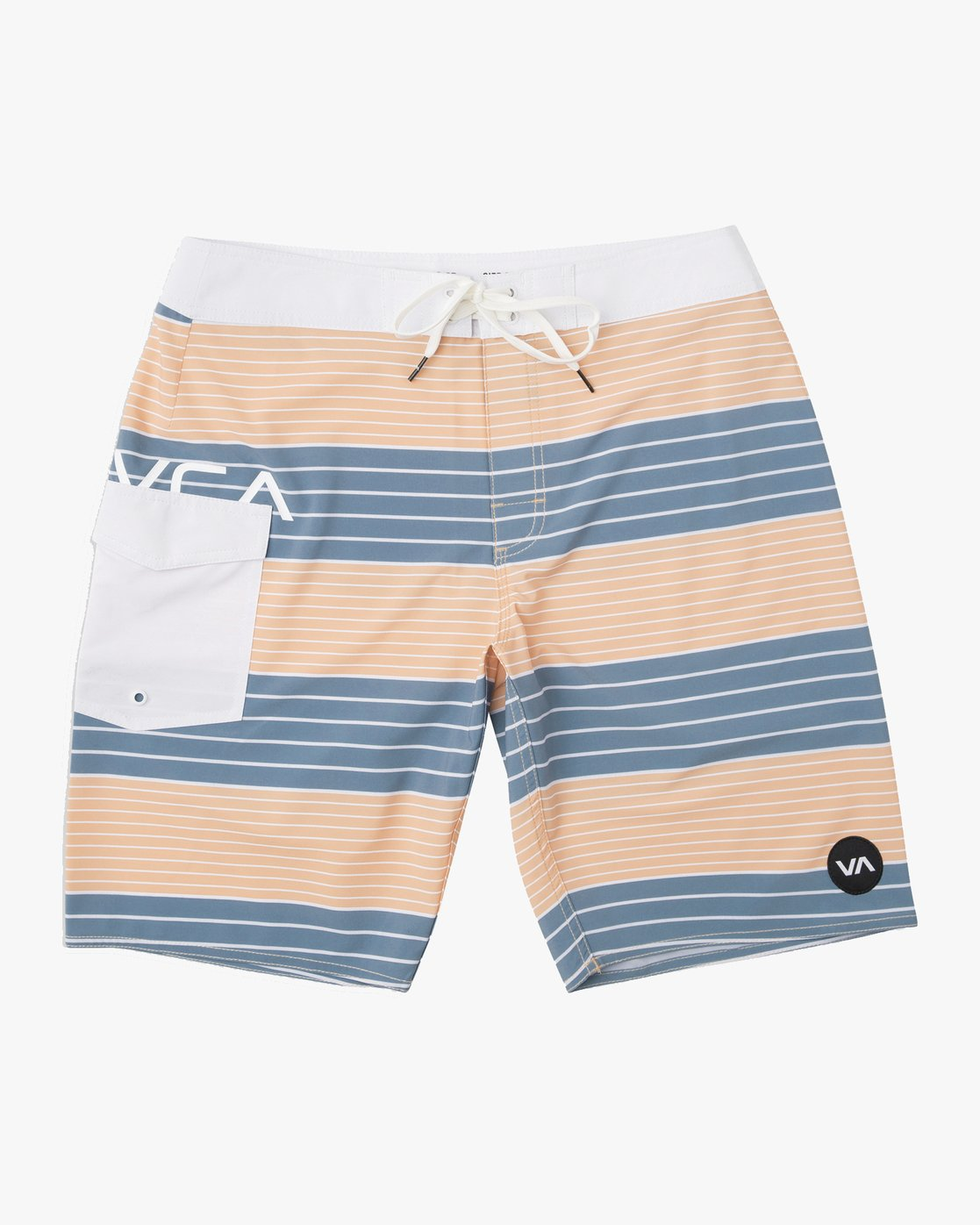 0 Uncivil Stripe Trunk Orange N1BSRQRVP9 RVCA