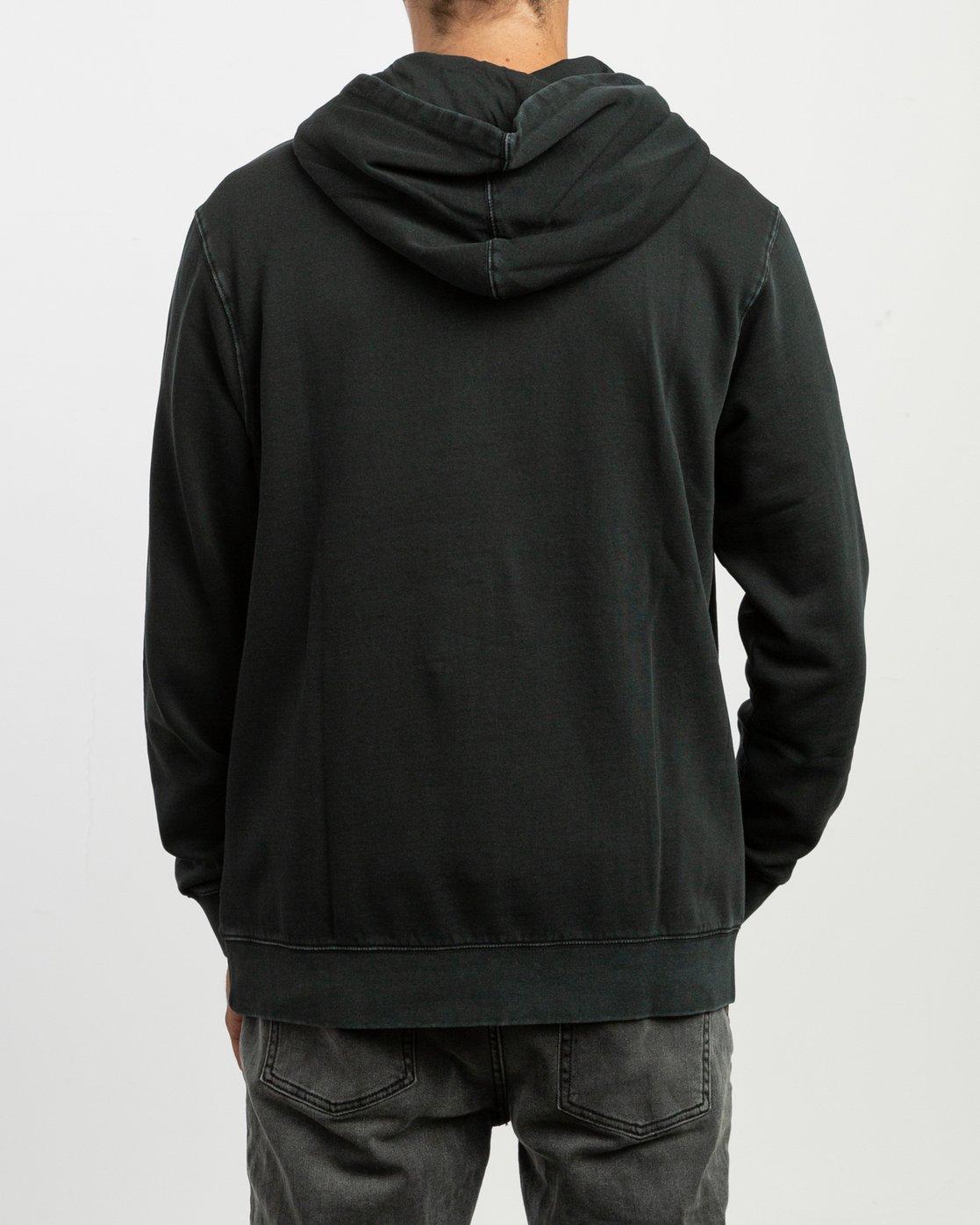 4 Little Rvca Tonally Fleece Black N1HORCRVP9 RVCA