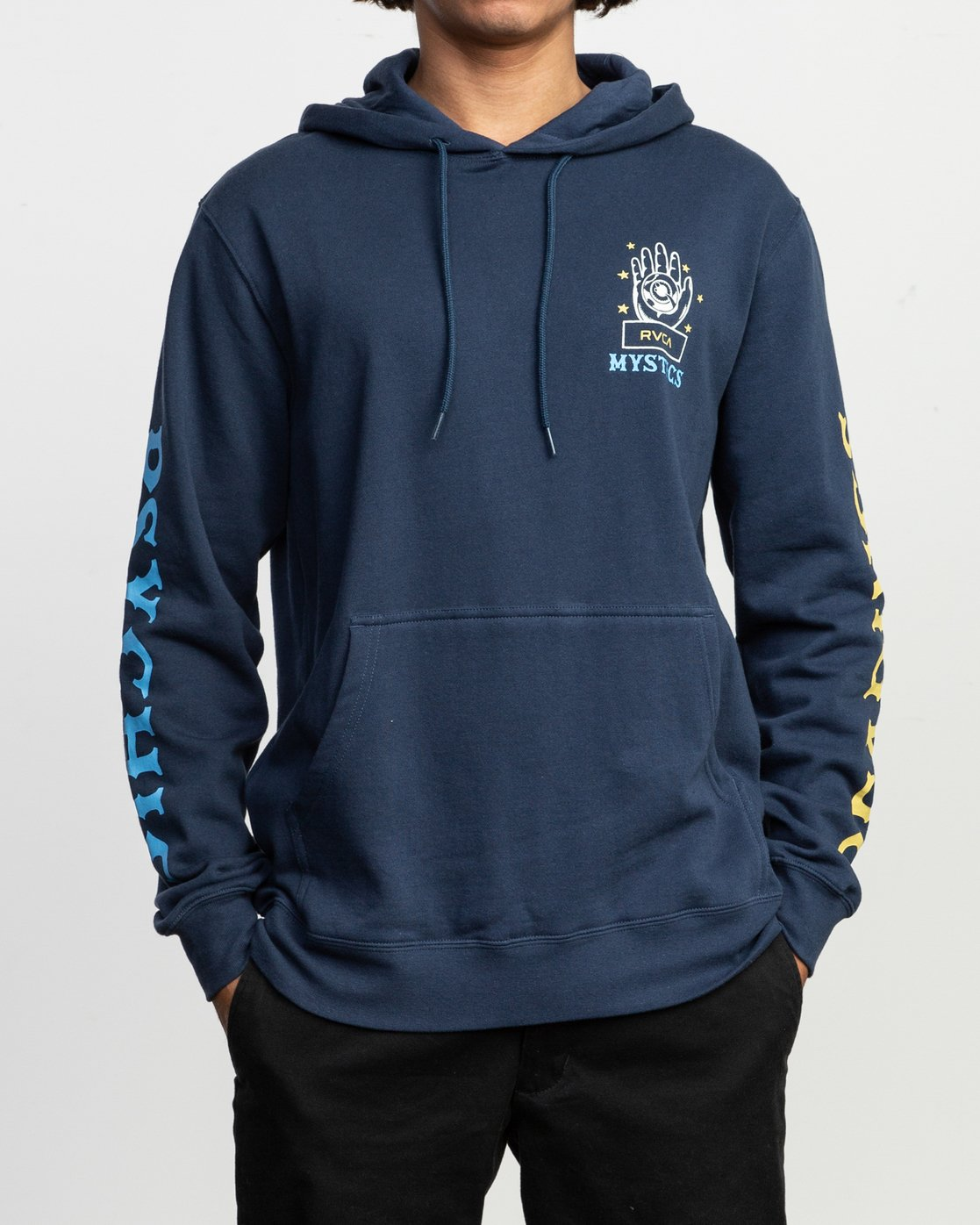 2 Anp Ii Pack Fleece Blue N1HORERVP9 RVCA