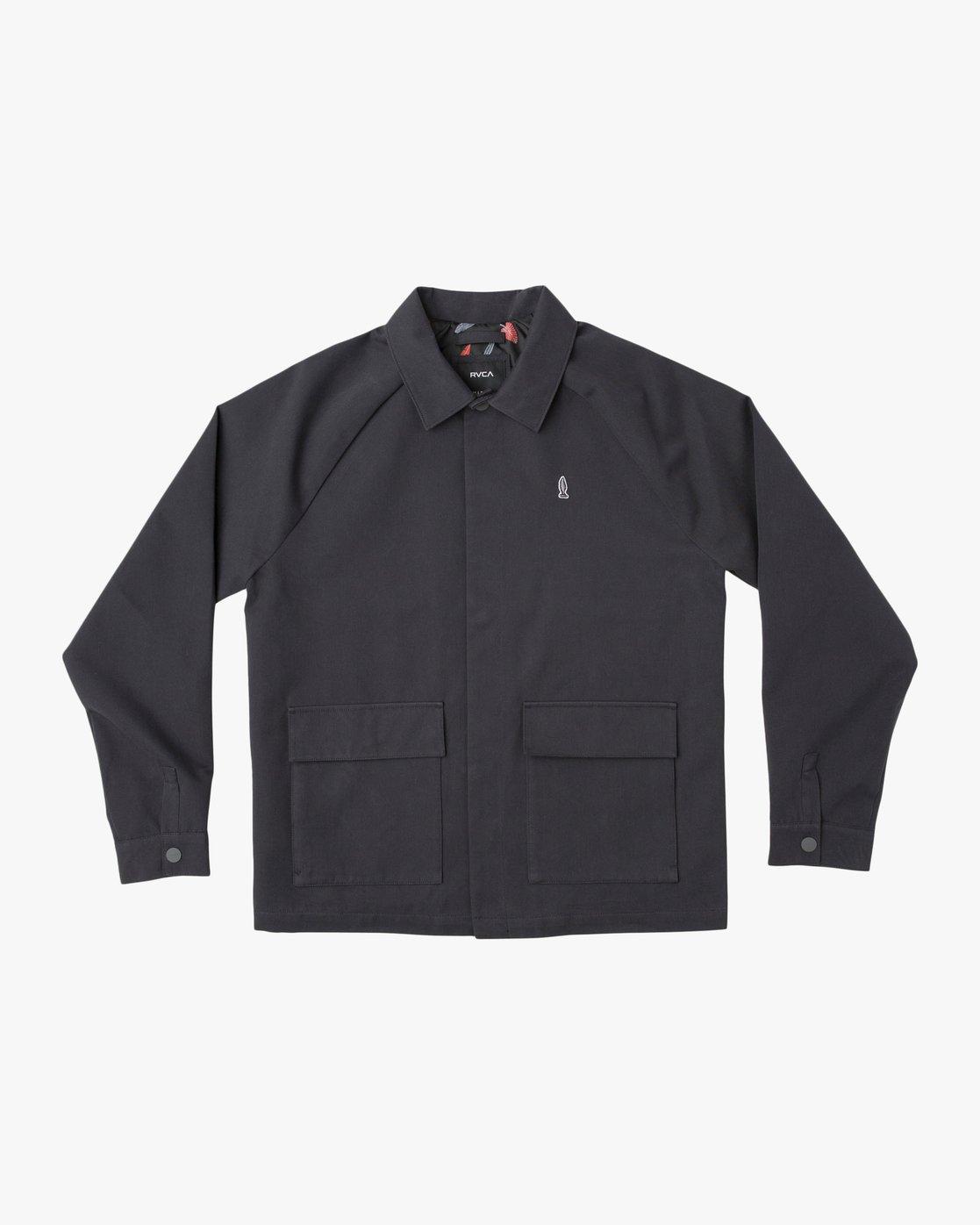 0 Gerrard Waist Cut Jacket Black N1JKRCRVP9 RVCA