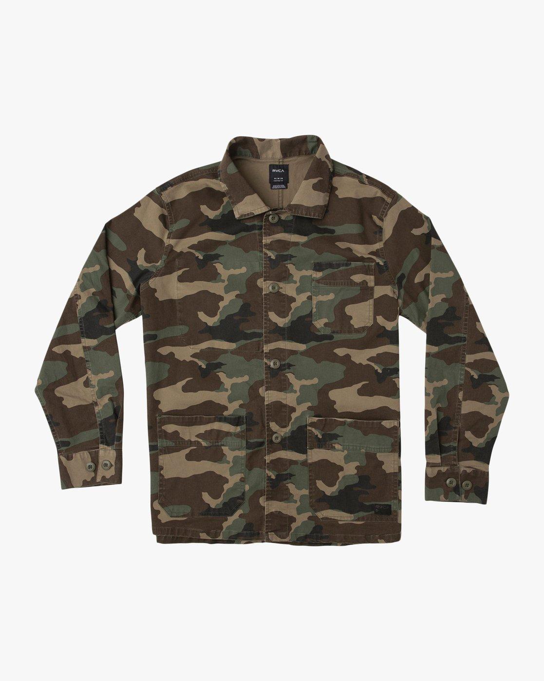 0 Couleur Chore Coat Camo N1JKRFRVP9 RVCA