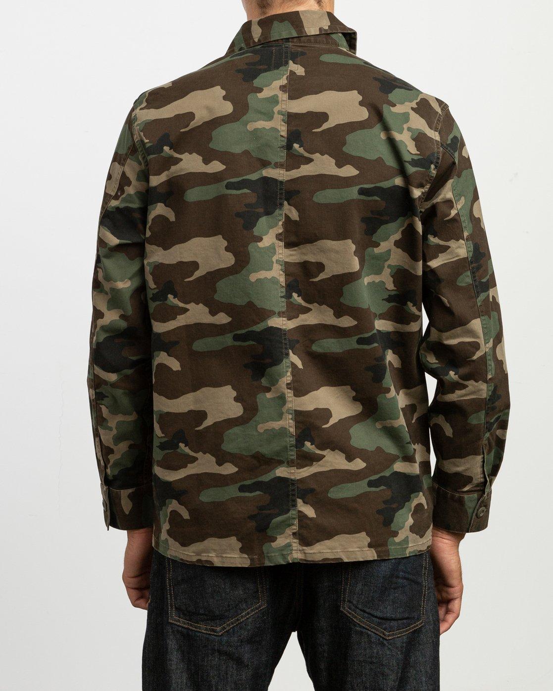 5 Couleur Chore Coat Camo N1JKRFRVP9 RVCA