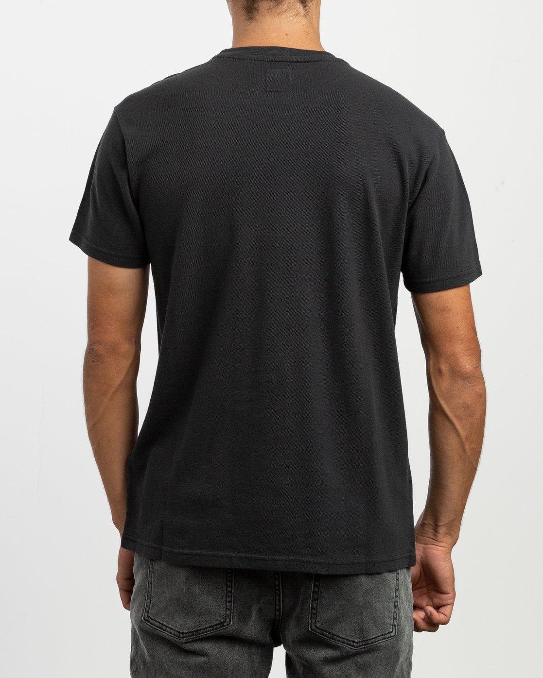 3 Stress T-Shirt Black N1KTRGRVP9 RVCA
