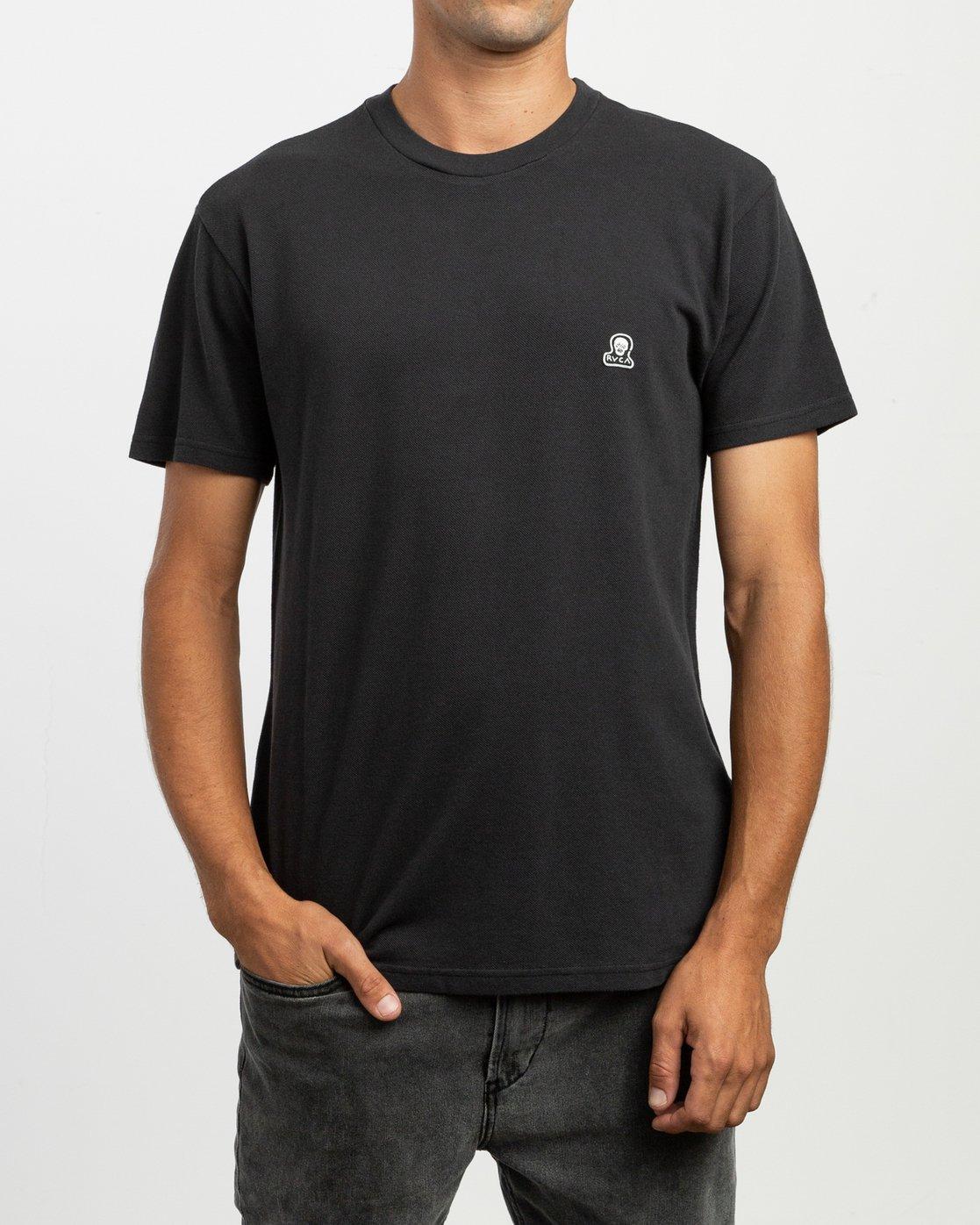 1 Stress T-Shirt Black N1KTRGRVP9 RVCA