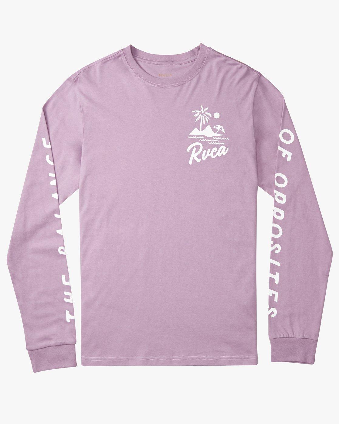 0 Mai Thai - Long Sleeves T-Shirt for Men Purple N1LSRBRVP9 RVCA