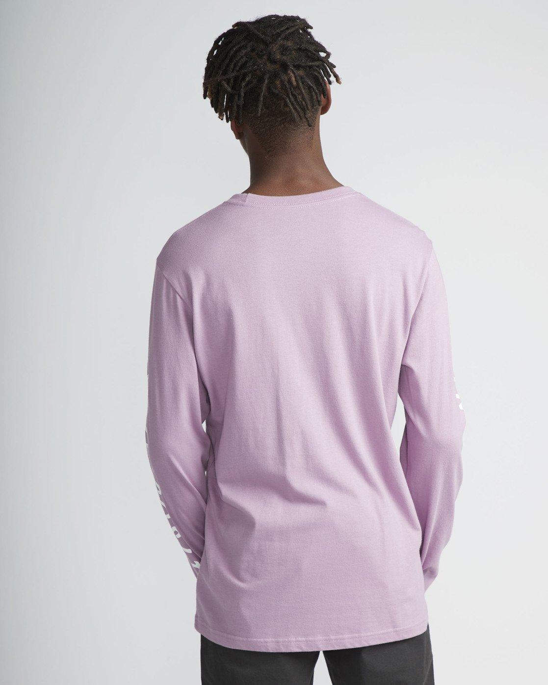 3 Mai Thai - Long Sleeves T-Shirt for Men Purple N1LSRBRVP9 RVCA
