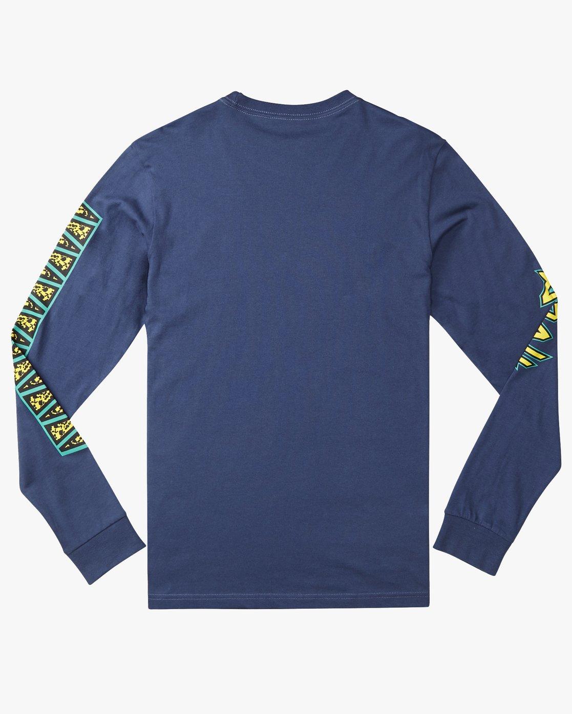 1 CREATURE LS Azul N1LSRWRVP9 RVCA