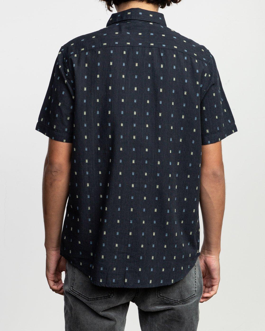 3 Aye Kat SS T-Shirt Blue N1SHRERVP9 RVCA