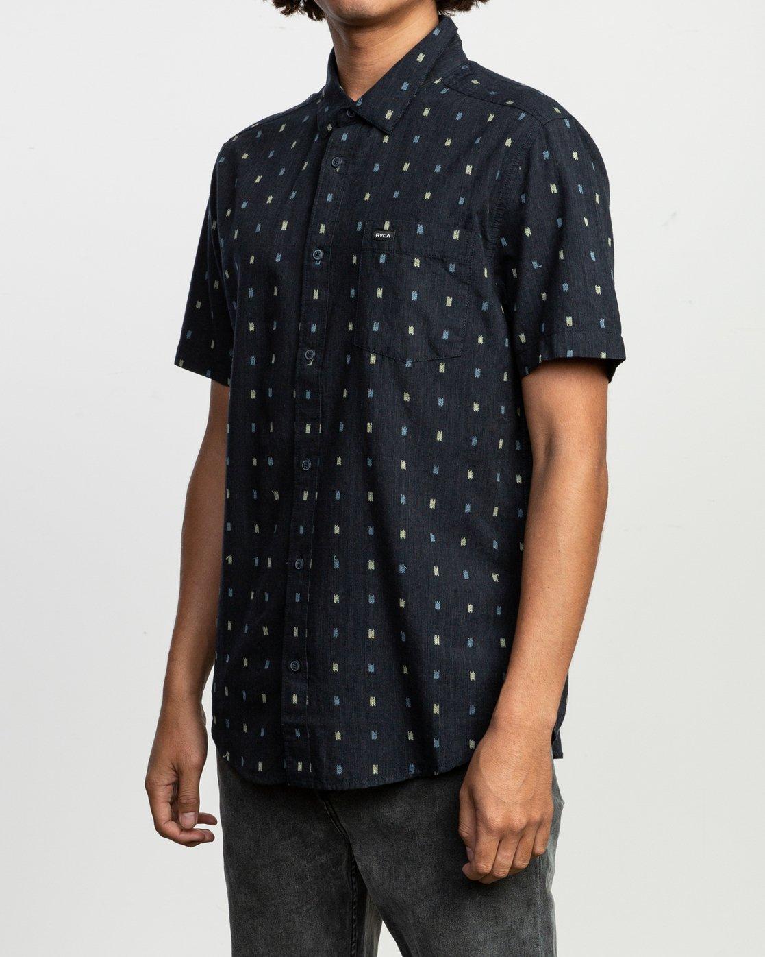 2 Aye Kat SS T-Shirt Blue N1SHRERVP9 RVCA