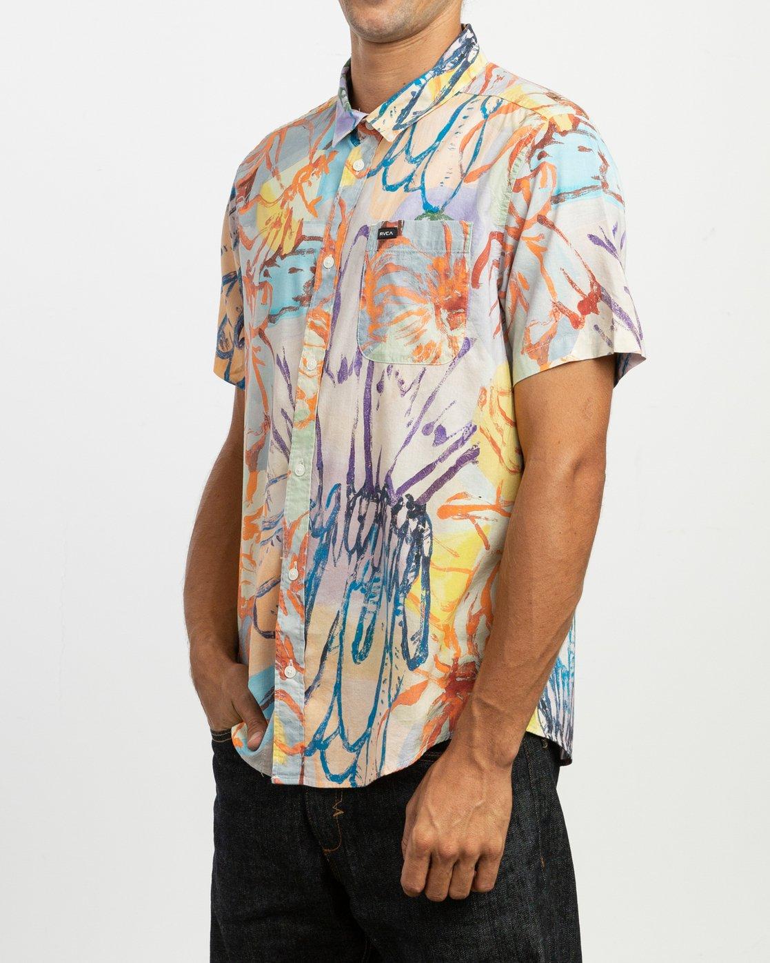 2 Vaughn Floral SS Shirt  N1SHRHRVP9 RVCA