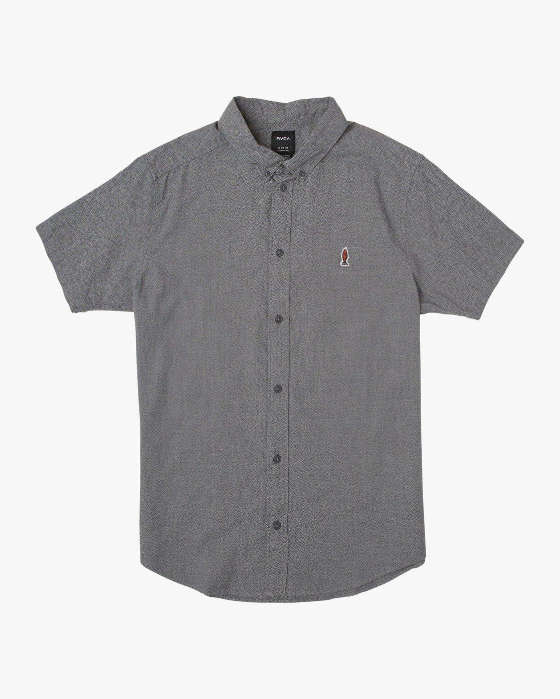 0 Anp Twist SS Shirt Black N1SHRKRVP9 RVCA