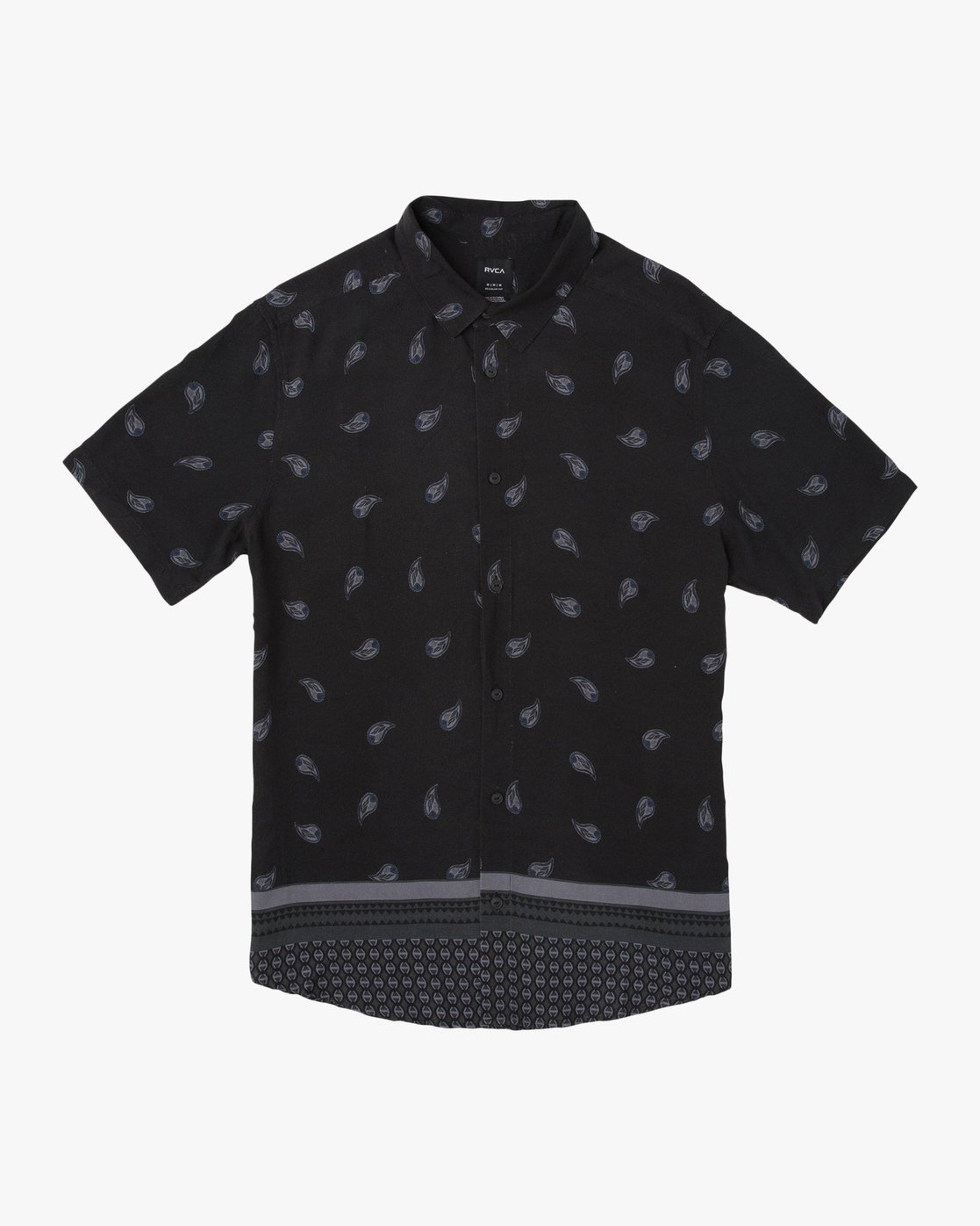 0 Lux SS Shirt Black N1SHRRRVP9 RVCA