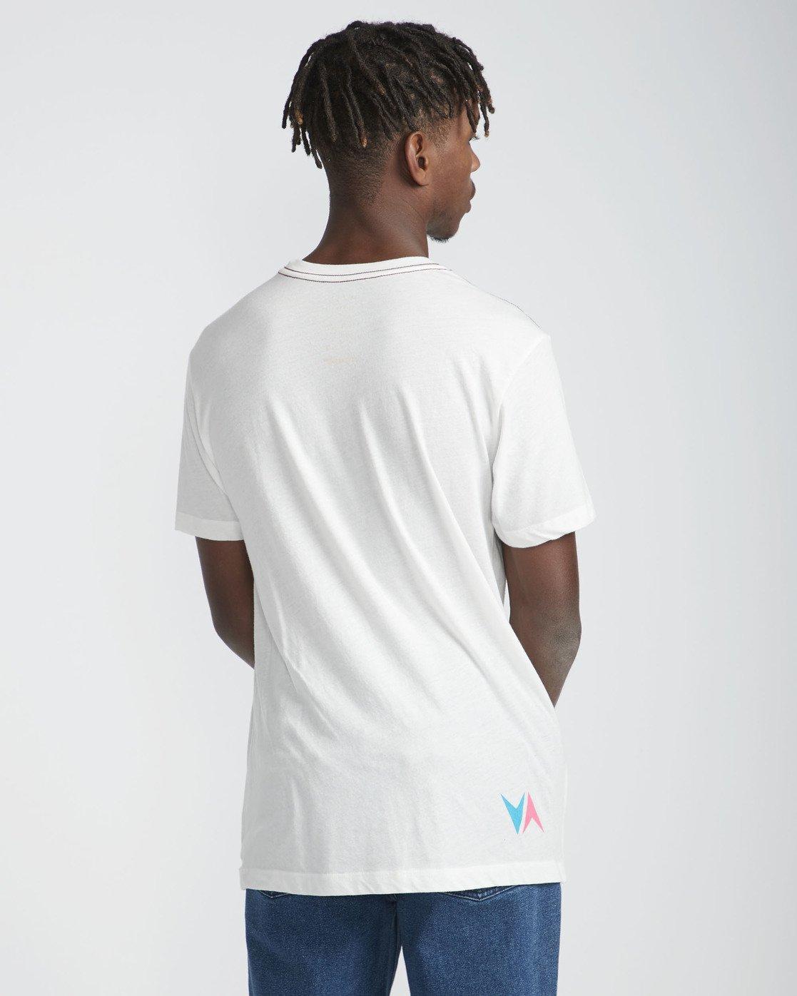 5 Daybreak - Short Sleeves T-Shirt for Men White N1SSRBRVP9 RVCA