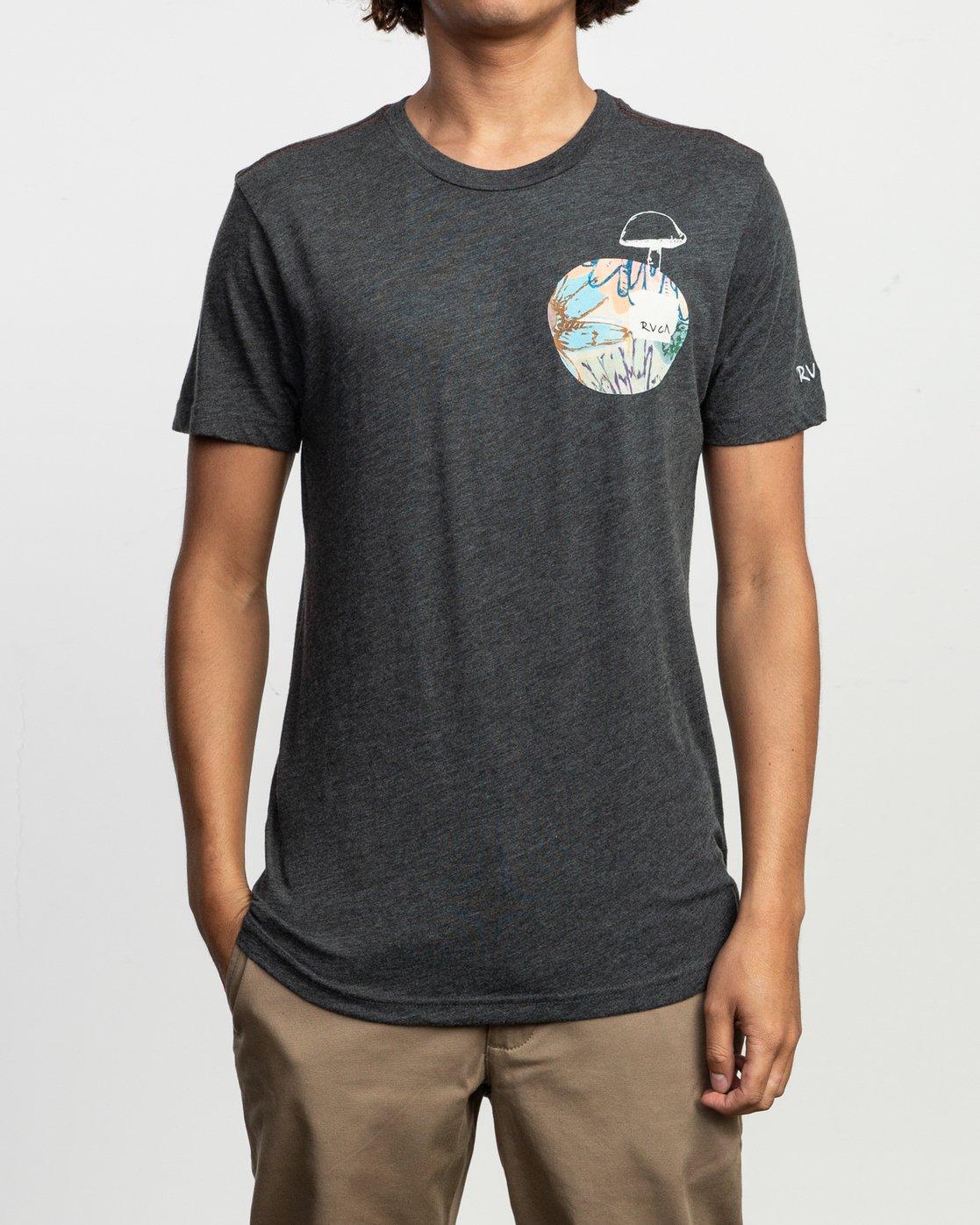 2 Vaughn SS T-Shirt Black N1SSRDRVP9 RVCA