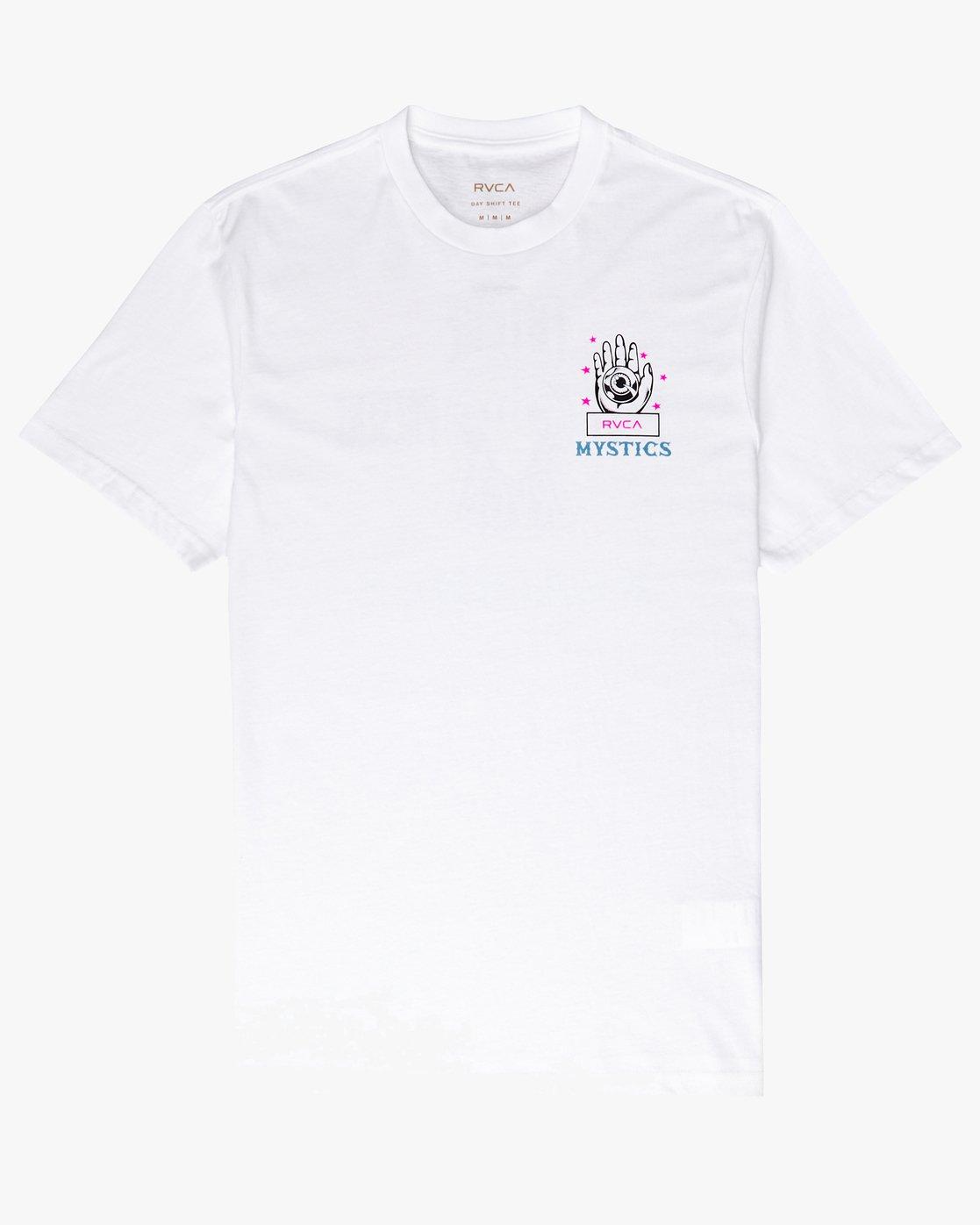 0 Psychic SS T-Shirt White N1SSRERVP9 RVCA