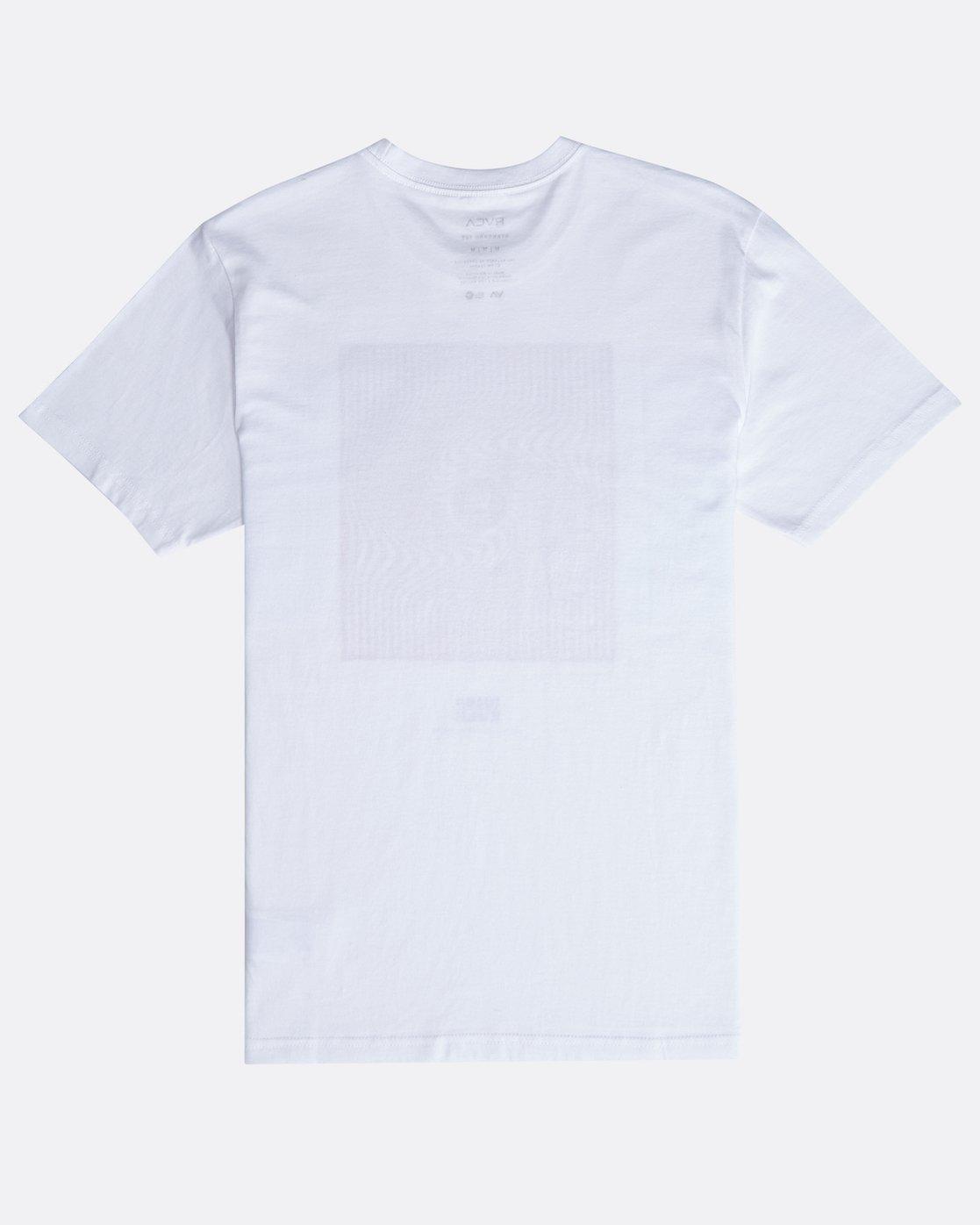 1 Mind Warp SS T-Shirt White N1SSRFRVP9 RVCA