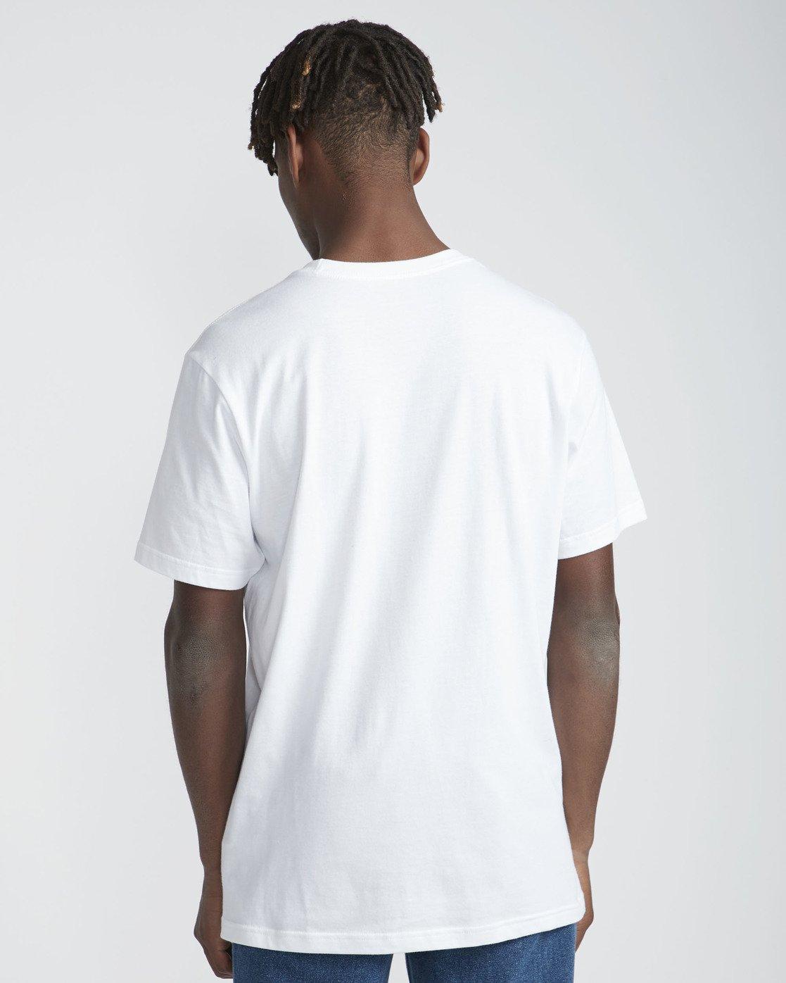 3 Mind Warp SS T-Shirt White N1SSRFRVP9 RVCA