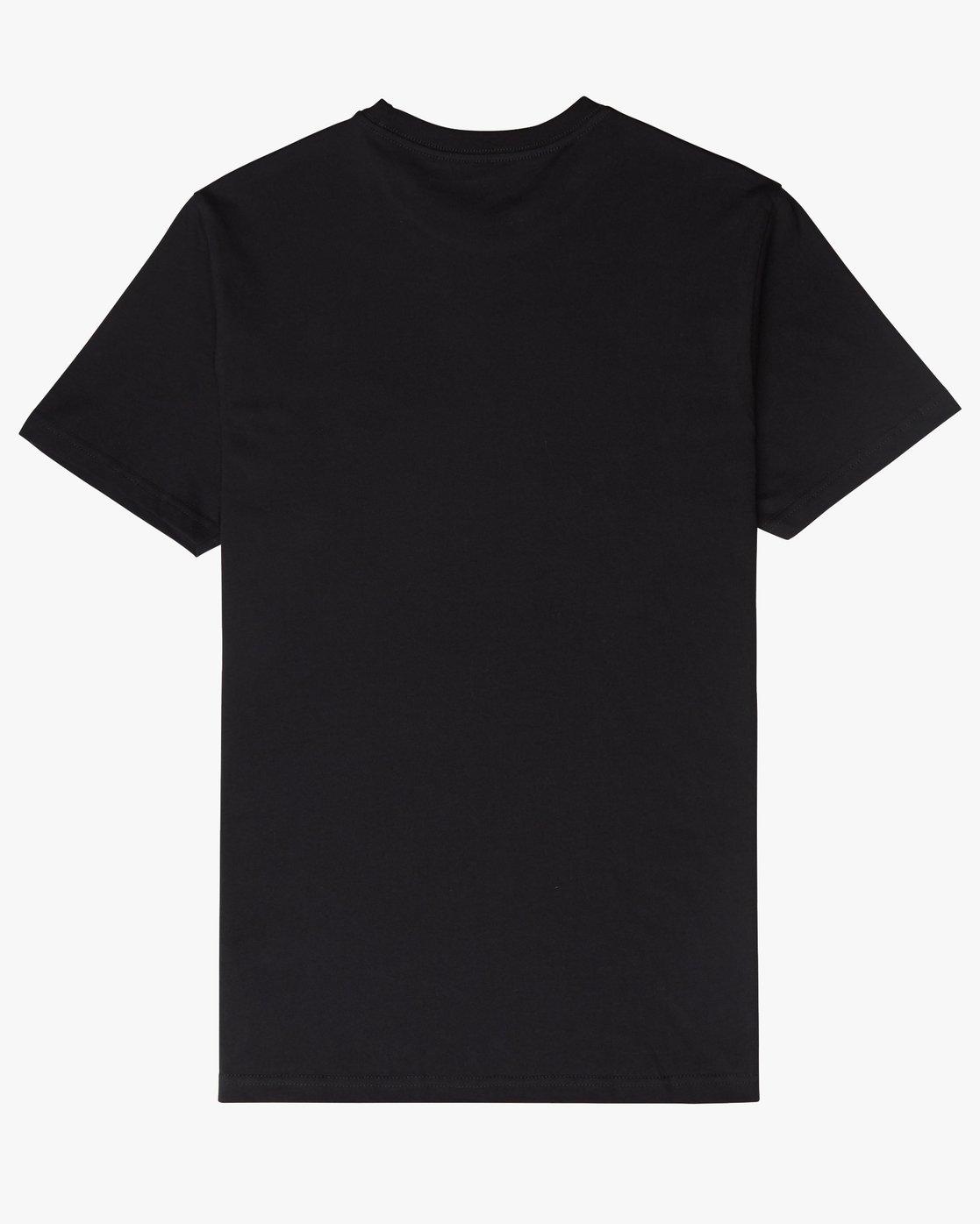 1 Motors Fill - T-Shirt à manches courtes pour Homme Noir N1SSRMRVP9 RVCA