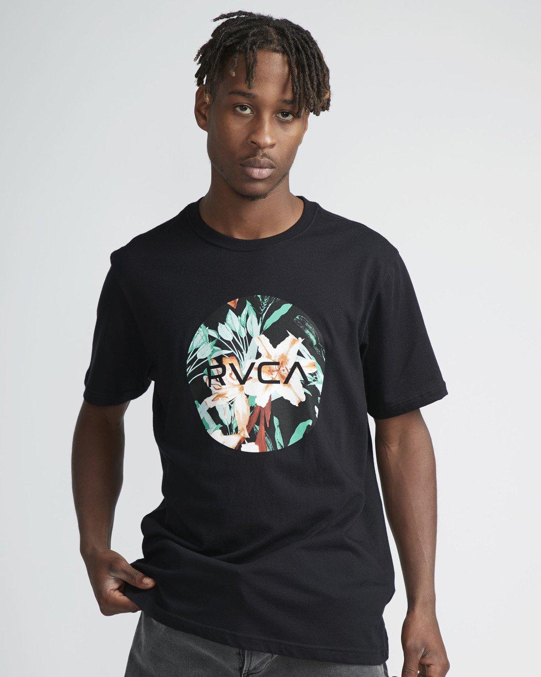 2 Motors Fill - T-Shirt à manches courtes pour Homme Noir N1SSRMRVP9 RVCA