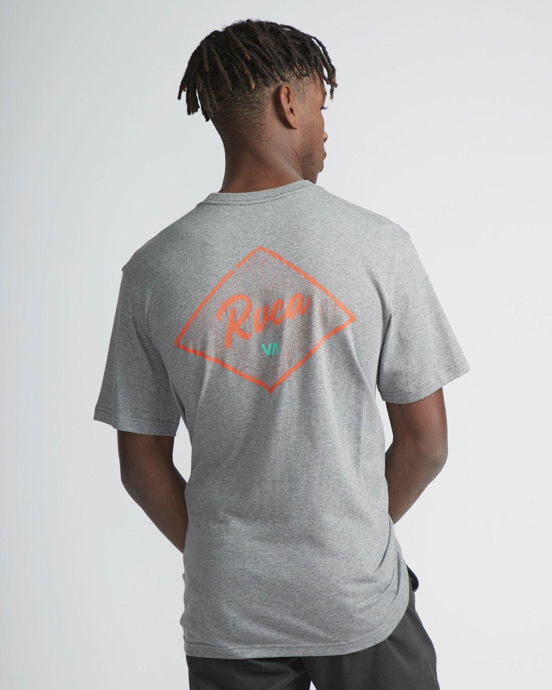3 RVCA Font - T-Shirt à manches courtes pour Homme  N1SSRRRVP9 RVCA