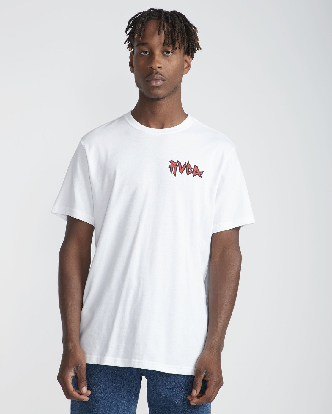 2 Monster Pack SS T-Shirt White N1SSRURVP9 RVCA