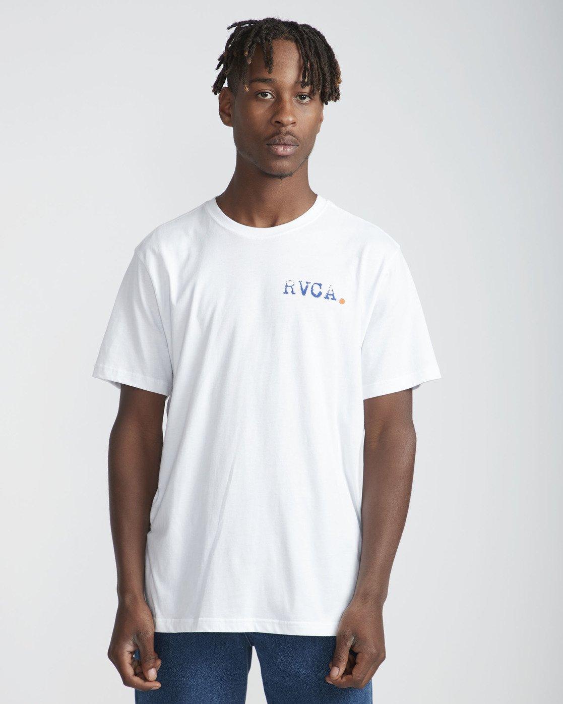 2 Intense Desert SS T-Shirt White N1SSRWRVP9 RVCA