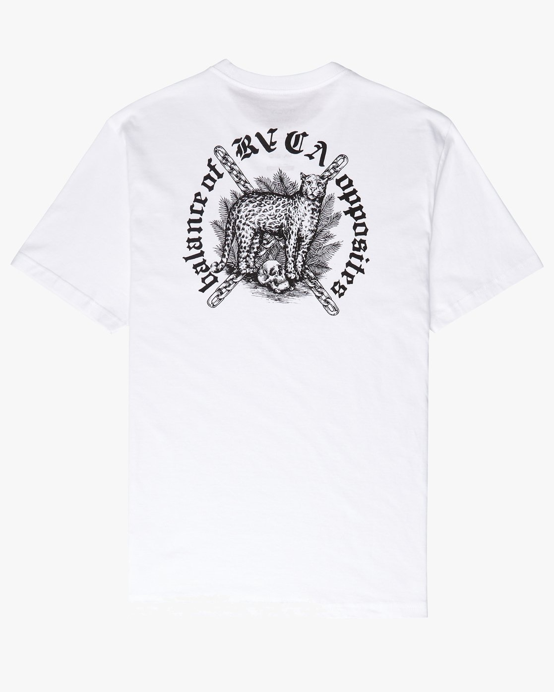 0 Wildcat SS T-Shirt White N1SSRYRVP9 RVCA