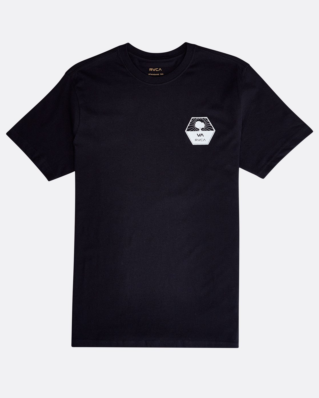 0 Stealth Irons SS T-Shirt Black N1SSSARVP9 RVCA