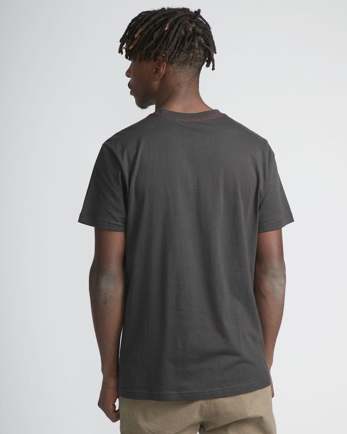 3 Faces SS T-Shirt Black N1SSSERVP9 RVCA