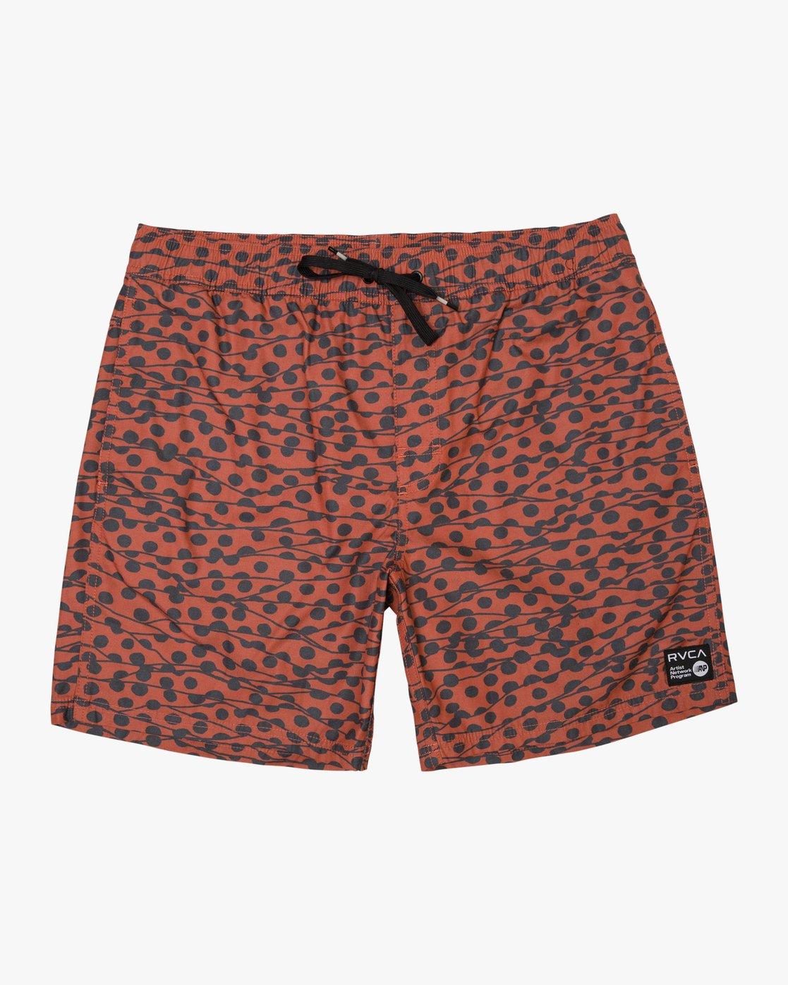 """0 Tom Gerrard Dots - 17"""" Boardshorts for Men Red N1VORARVP9 RVCA"""