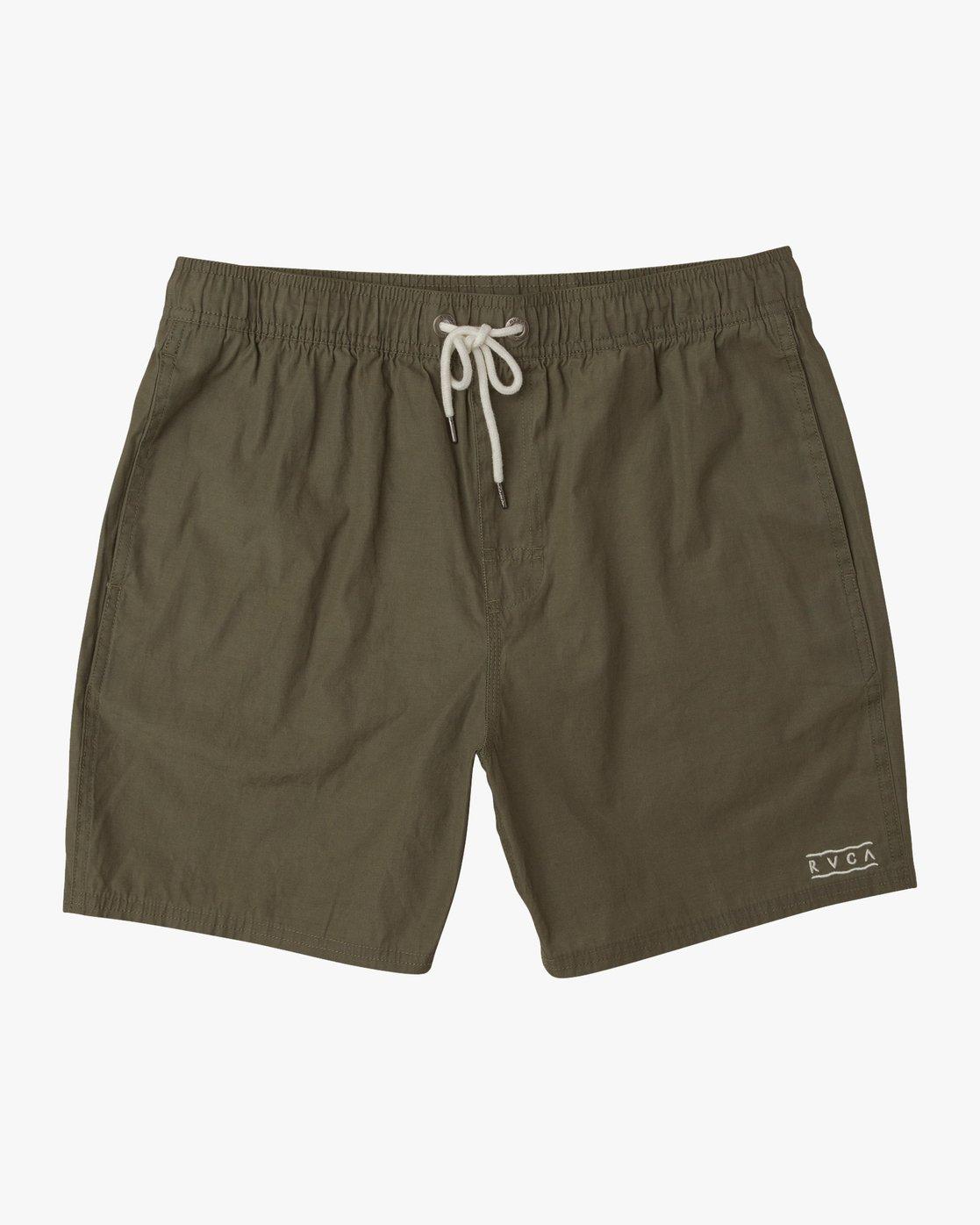0 Tom Gerrard Elastic - Short for Men Verde N1VORERVP9 RVCA