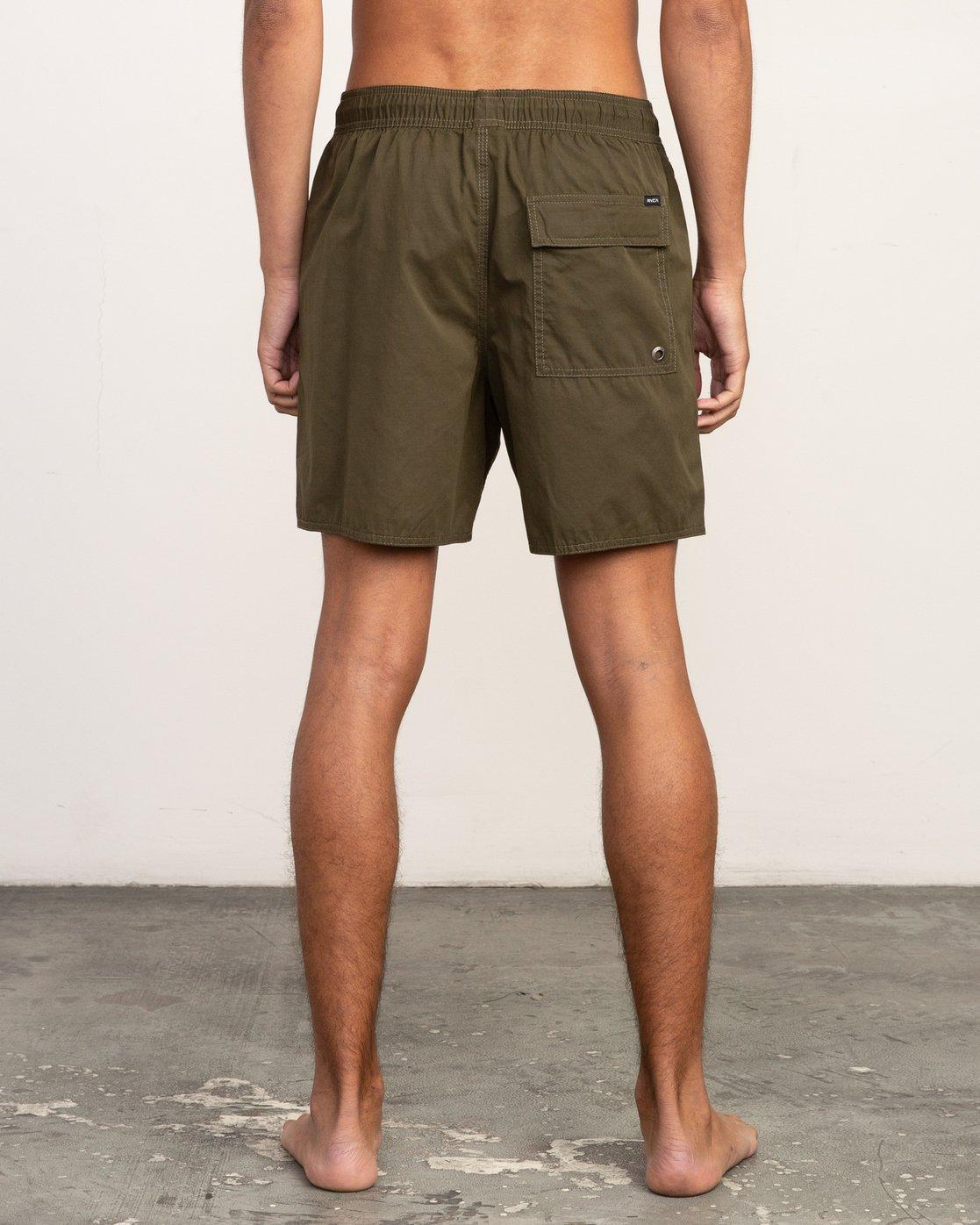 4 Tom Gerrard Elastic - Short for Men Verde N1VORERVP9 RVCA