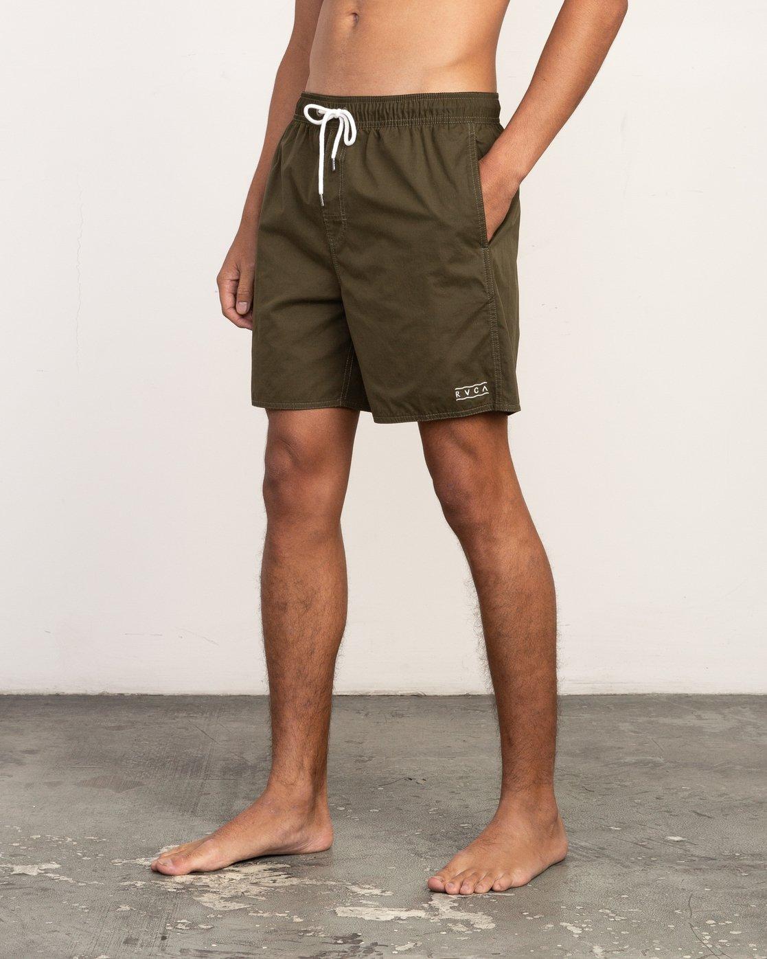 2 Tom Gerrard Elastic - Short for Men Verde N1VORERVP9 RVCA