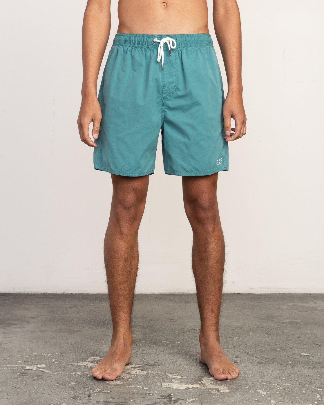 1 Tom Gerrard Elastic - Short for Men Blue N1VORERVP9 RVCA