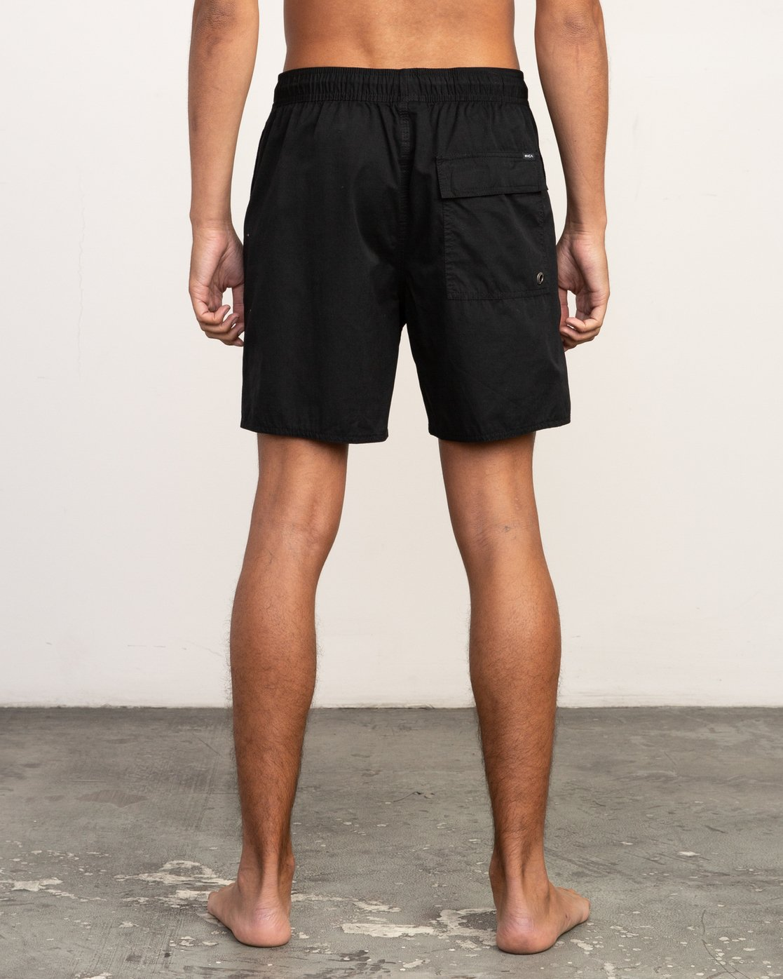 4 Tom Gerrard Elastic - Short for Men Black N1VORERVP9 RVCA