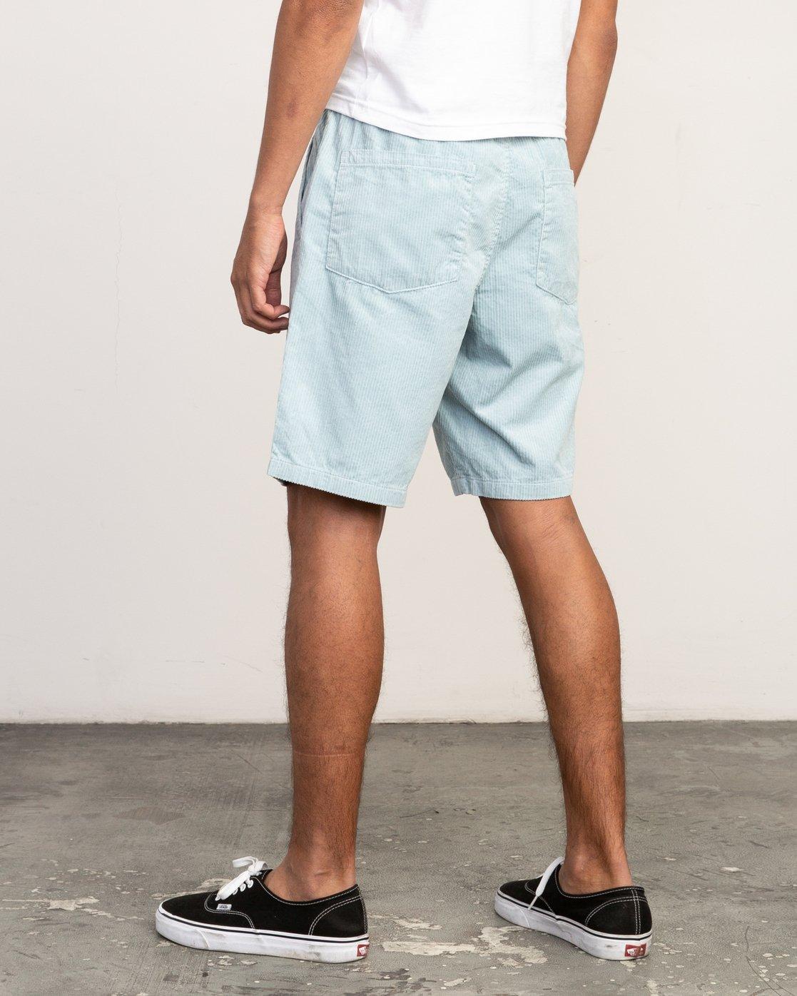 3 Americana Corduroy - Short 19'' taille élastiquée pour Homme  N1WKRBRVP9 RVCA