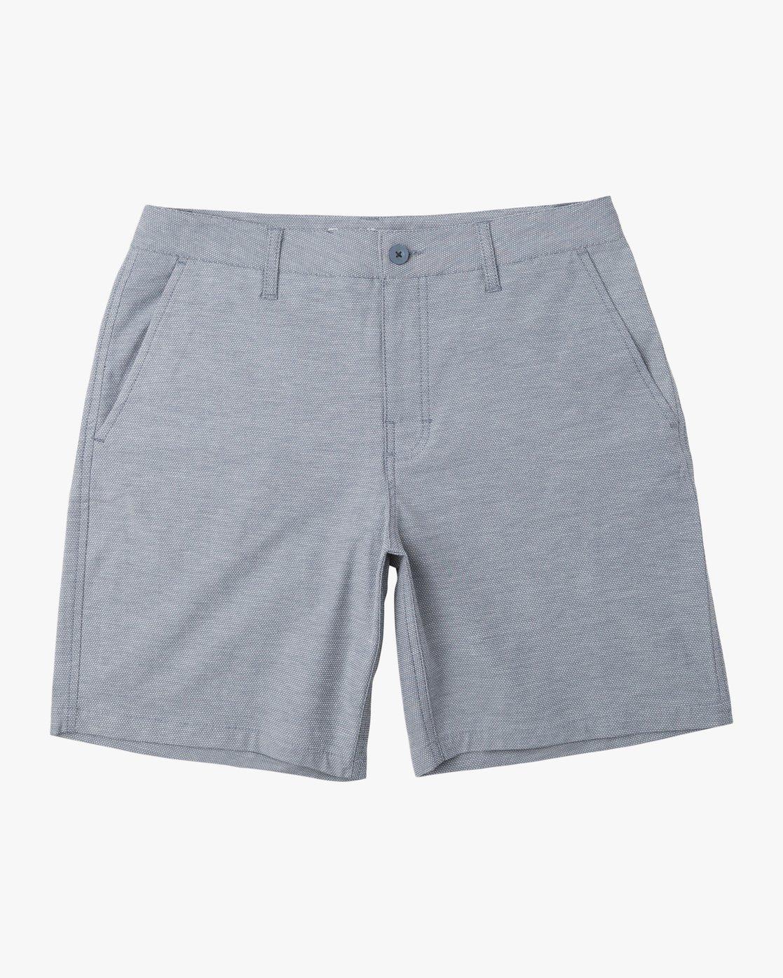 0 Balance Nailhead Hybrid Short for Men Blue N1WKRIRVP9 RVCA