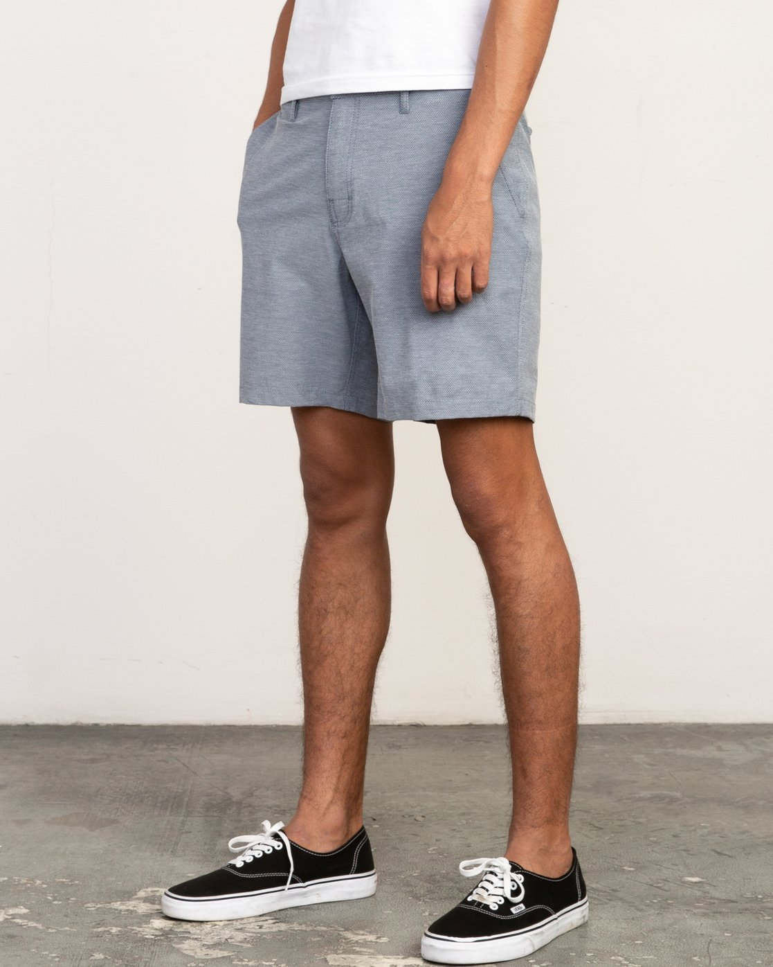 2 Balance Nailhead Hybrid Short for Men Blue N1WKRIRVP9 RVCA