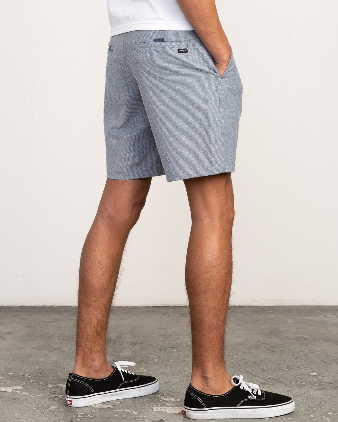 5 Balance Nailhead Hybrid Short for Men Blue N1WKRIRVP9 RVCA