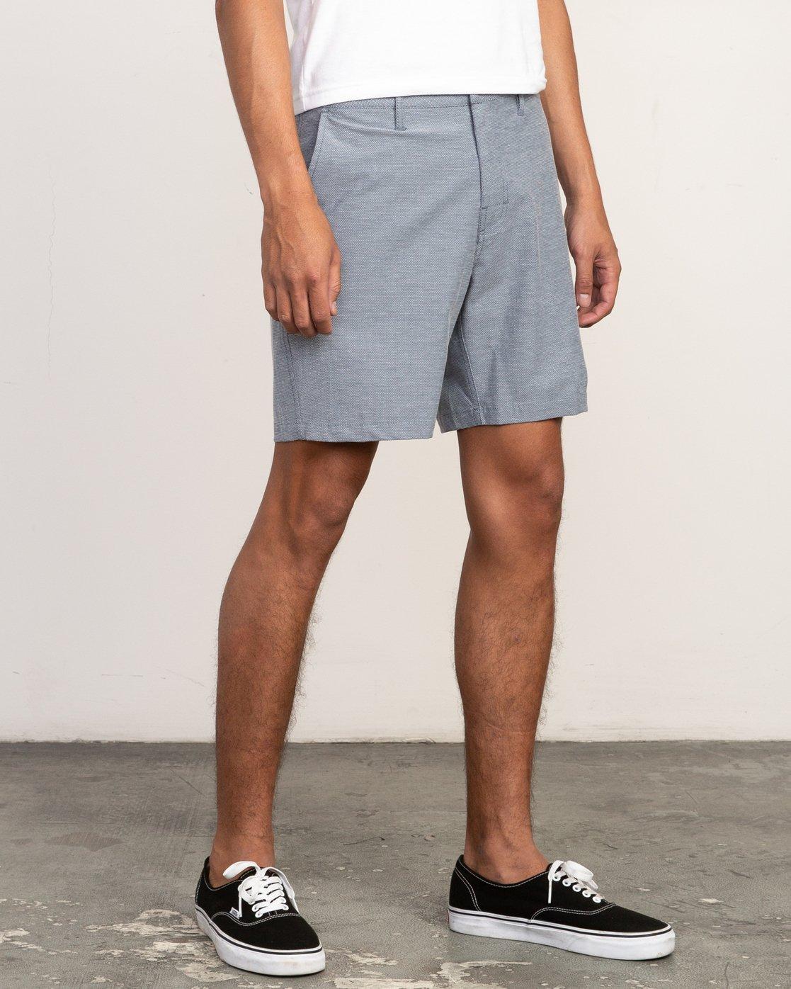 6 Balance Nailhead Hybrid Short for Men Blue N1WKRIRVP9 RVCA