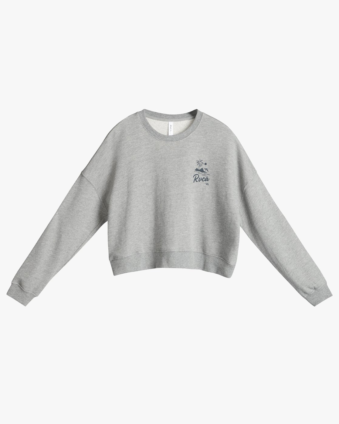 6 Mai Tai Fleece Grey N3CRRBRVP9 RVCA