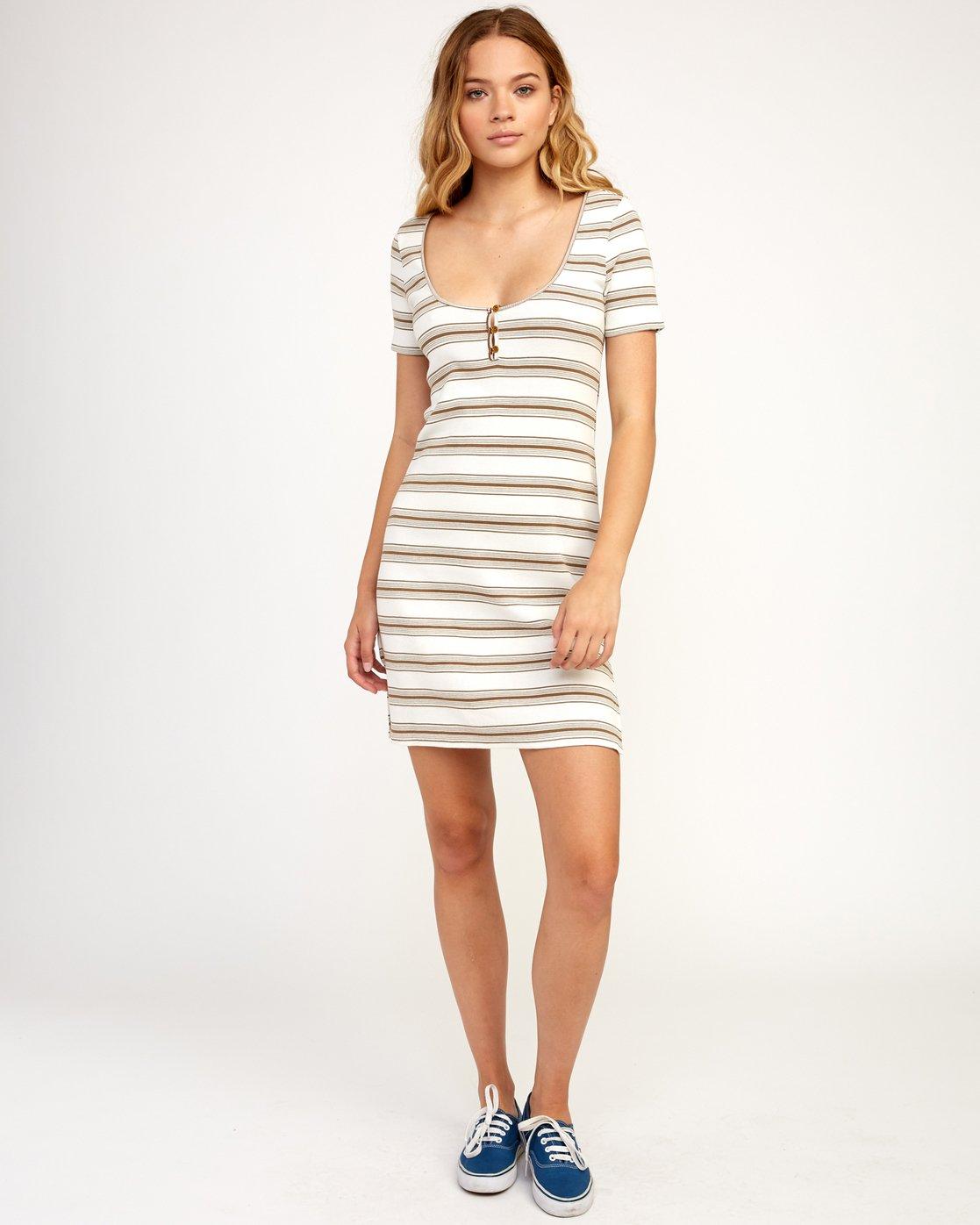 5 Vamp - Dress for Women Beige N3DRRGRVP9 RVCA