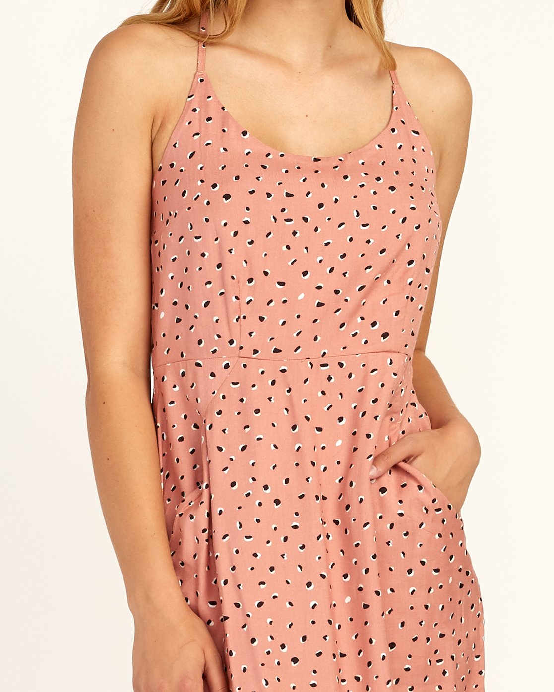 3 Cece - Dress for Women Brown N3DRRIRVP9 RVCA