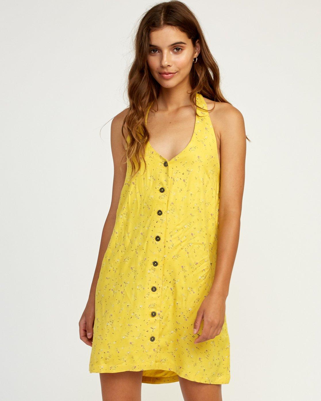 0 90s Baby - Dress for Women Yellow N3DRRNRVP9 RVCA