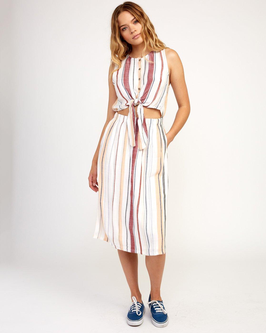 6 Arizona Dress White N3DRRPRVP9 RVCA