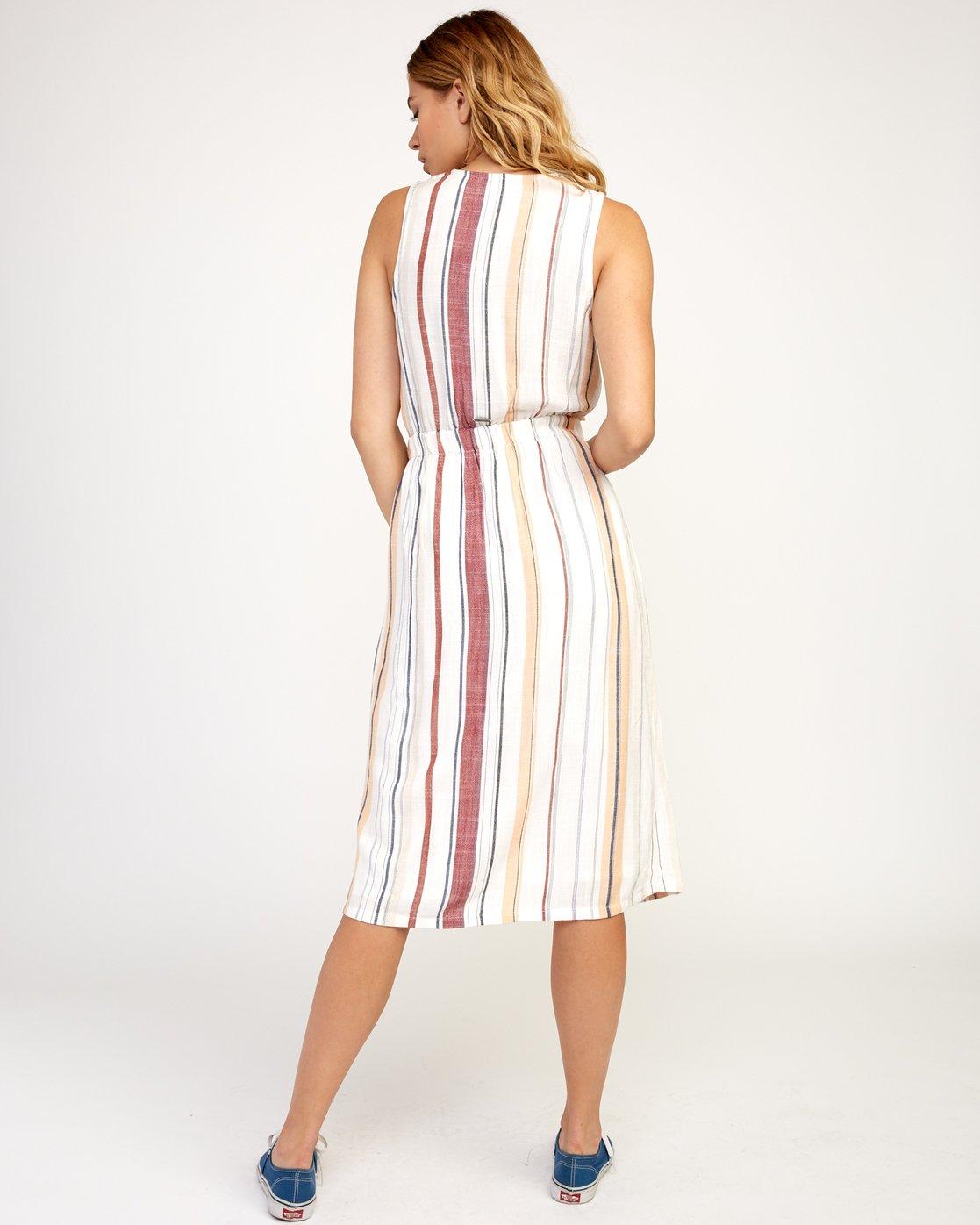 4 Arizona Dress White N3DRRPRVP9 RVCA