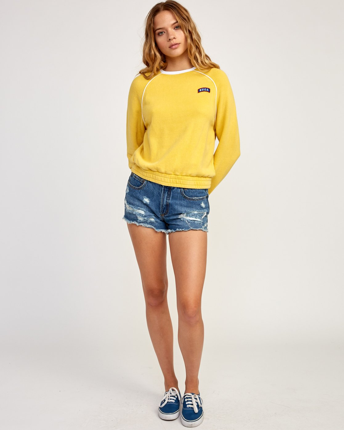 5 Hangtown Fleece Yellow N3FLRARVP9 RVCA