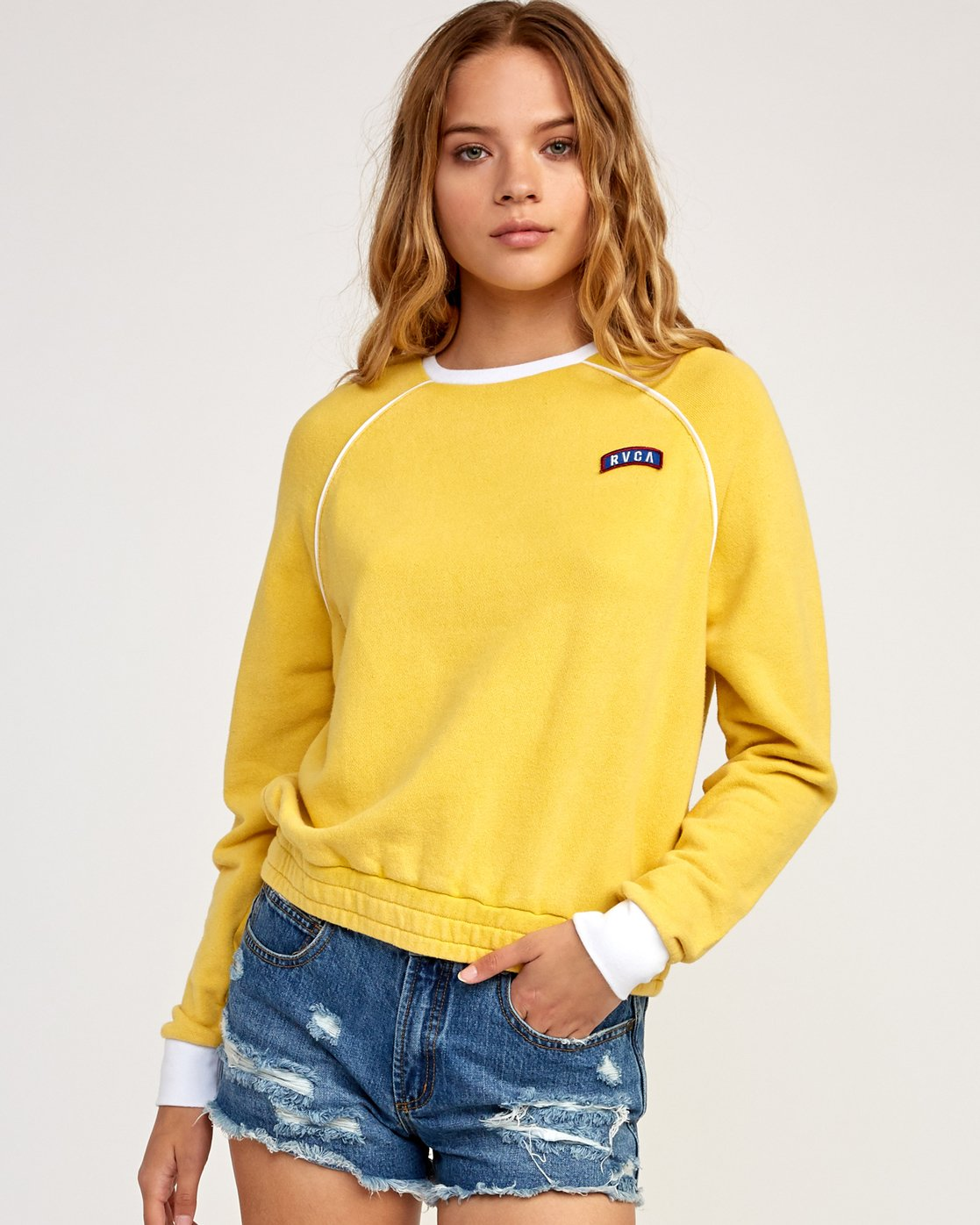 1 Hangtown Fleece Yellow N3FLRARVP9 RVCA
